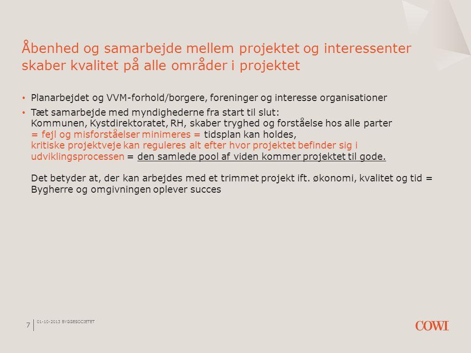 Åbenhed og samarbejde mellem projektet og interessenter skaber kvalitet på alle områder i projektet
