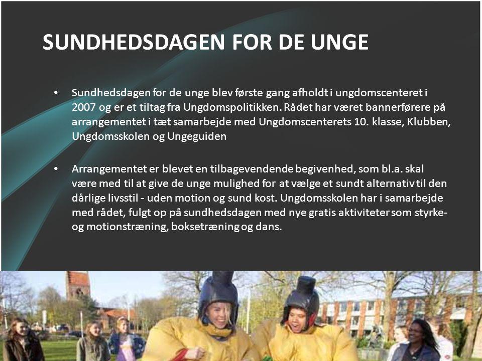 SUNDHEDSDAGEN FOR DE UNGE