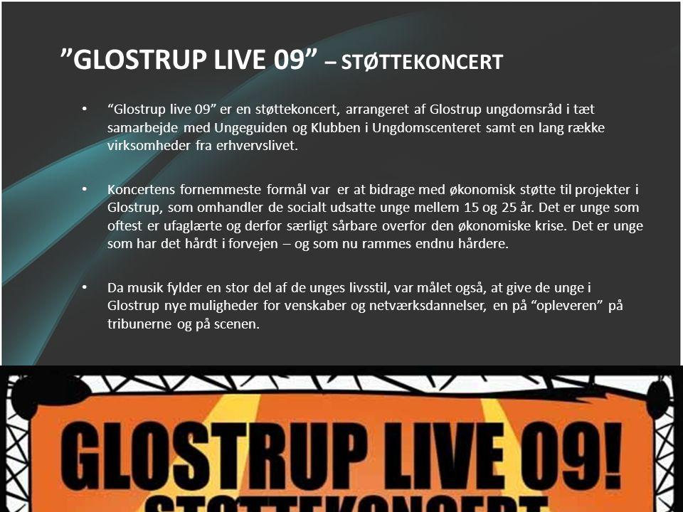 GLOSTRUP LIVE 09 – STØTTEKONCERT