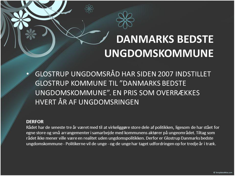 DANMARKS BEDSTE UNGDOMSKOMMUNE