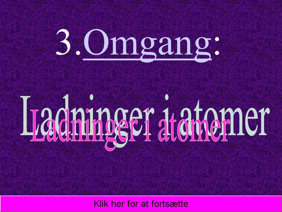 3.Omgang: Ladninger i atomer