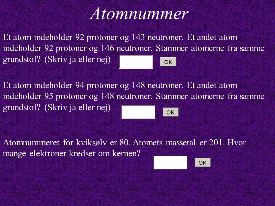 Atomnummer