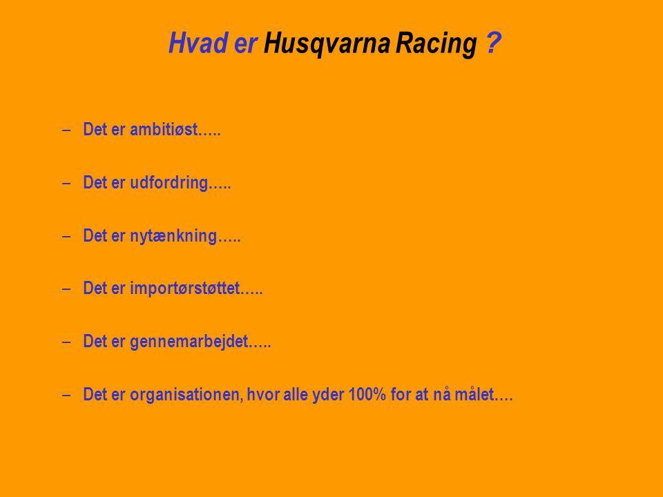 Hvad er Husqvarna Racing