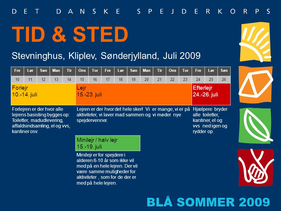 TID & STED Stevninghus, Kliplev, Sønderjylland, Juli 2009