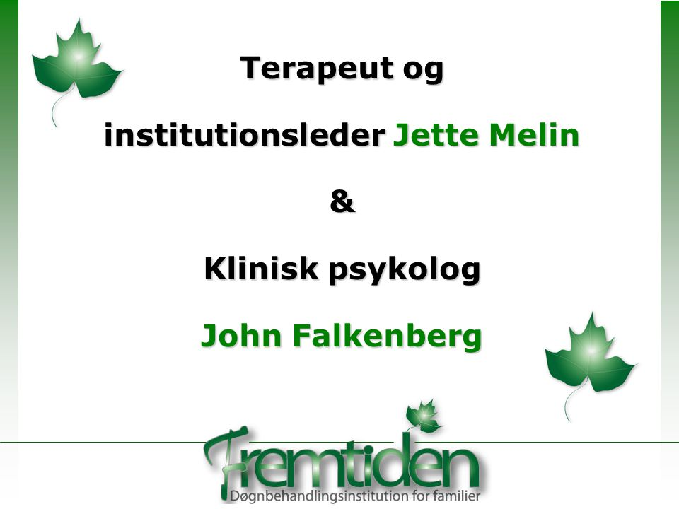 institutionsleder Jette Melin