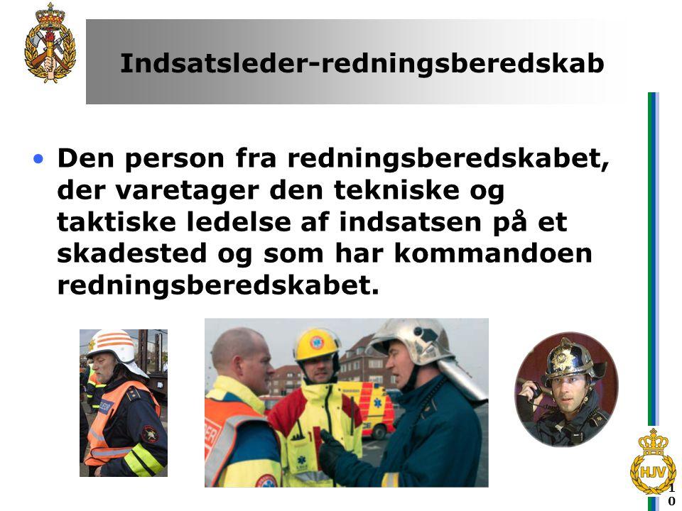 Indsatsleder-redningsberedskab