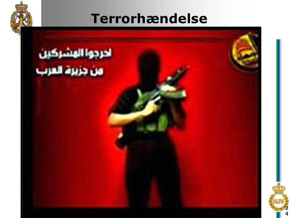 Terrorhændelse