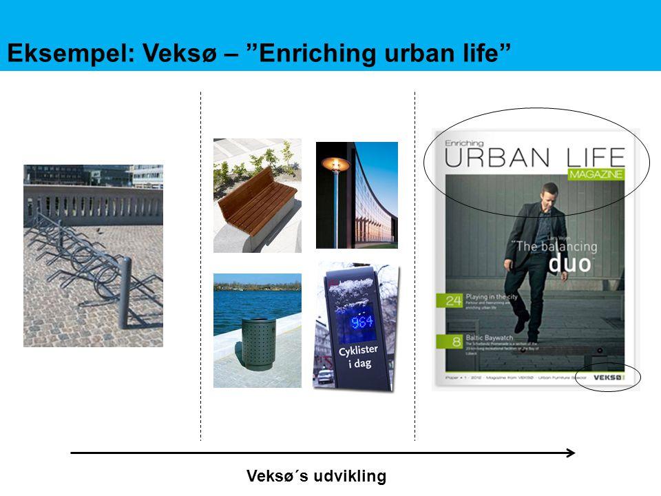 Eksempel: Veksø – Enriching urban life