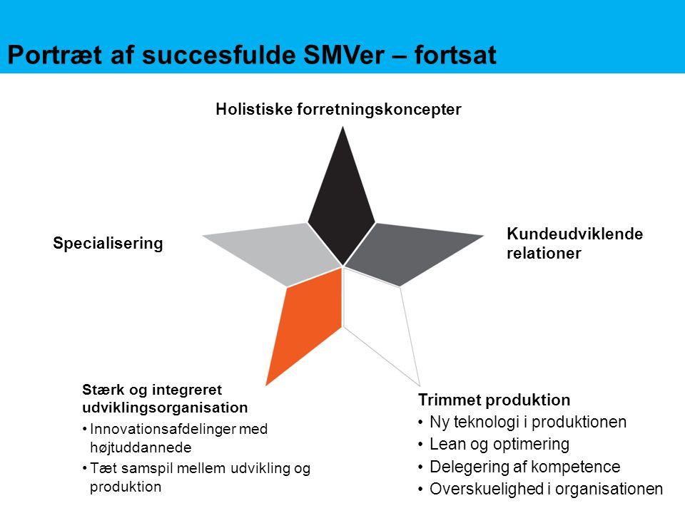 Portræt af succesfulde SMVer – fortsat