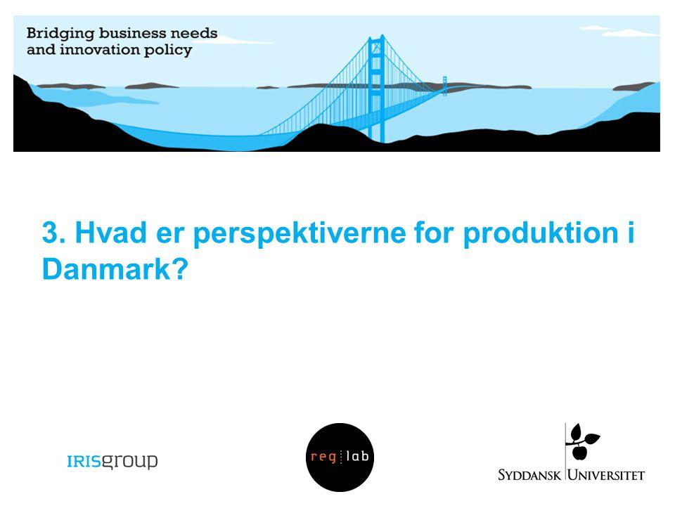 3. Hvad er perspektiverne for produktion i Danmark