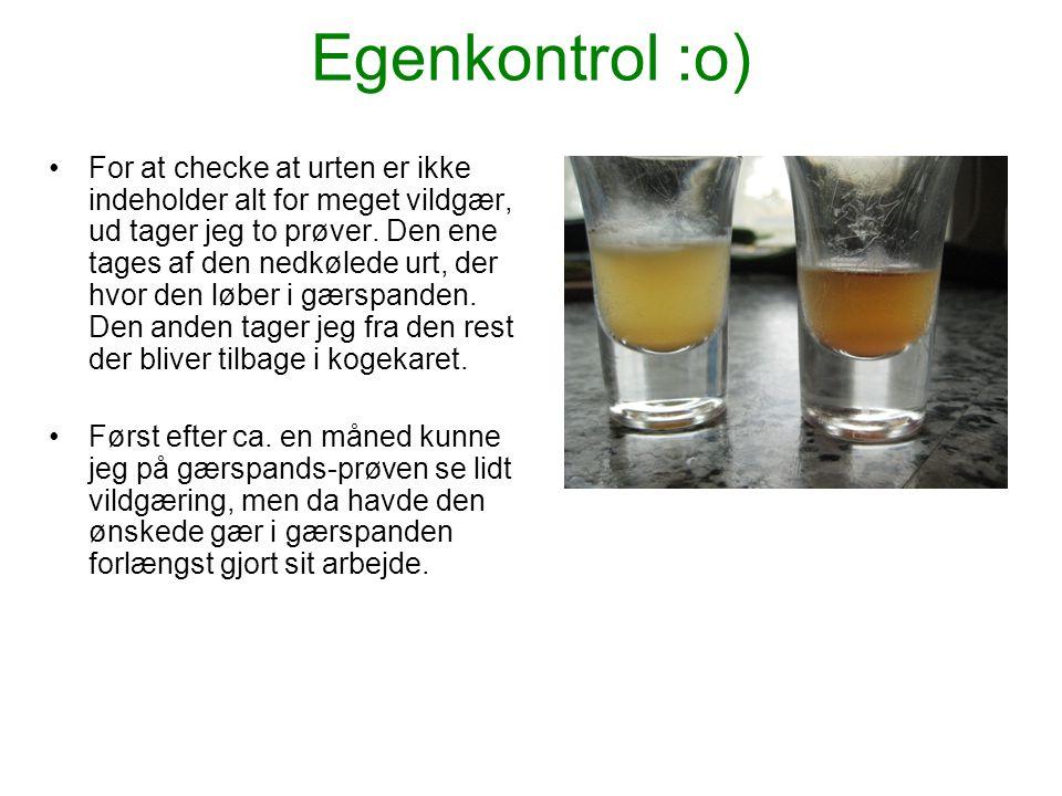 Egenkontrol :o)