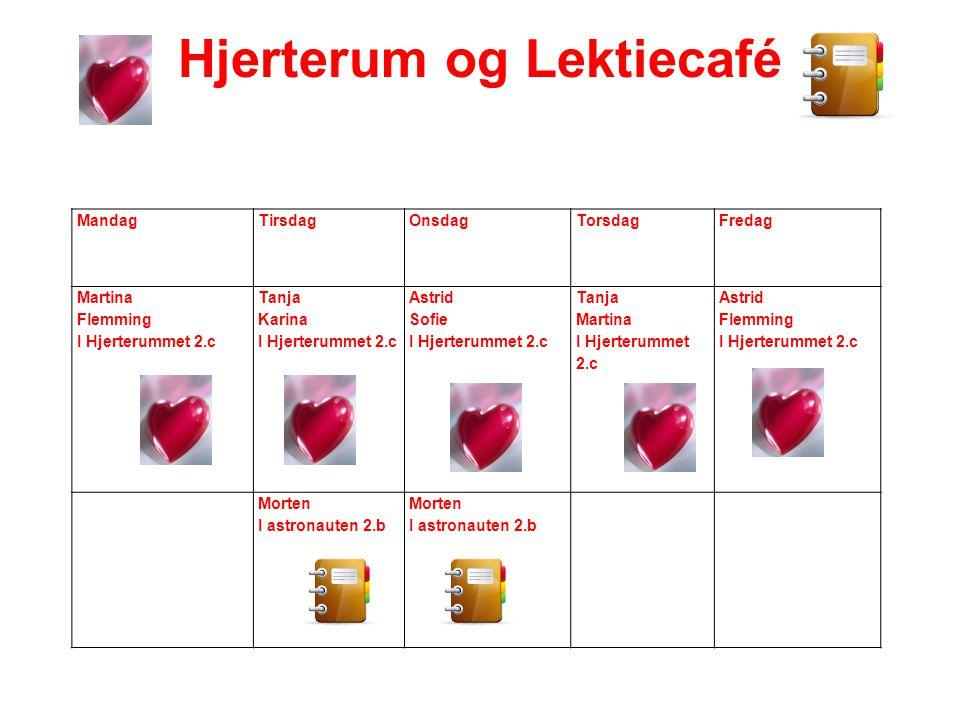 Hjerterum og Lektiecafé