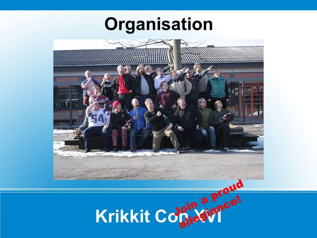Organisation Krikkit Con XVI