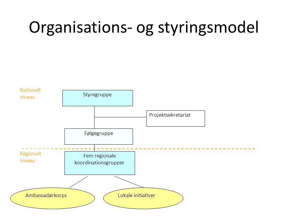 Organisations- og styringsmodel