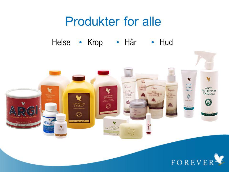 Produkter for alle Helse Hår Hud Krop