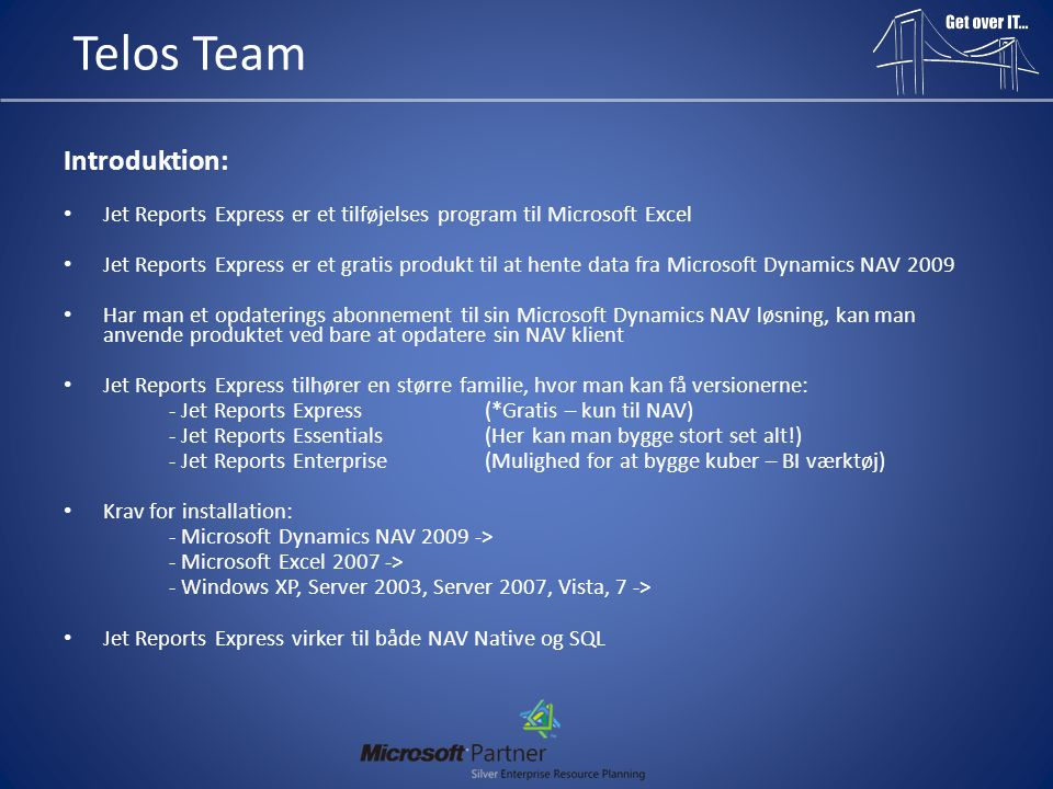 Telos Team Introduktion: