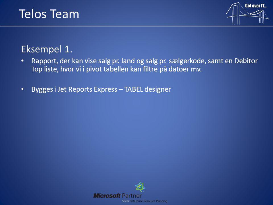 Telos Team Eksempel 1.