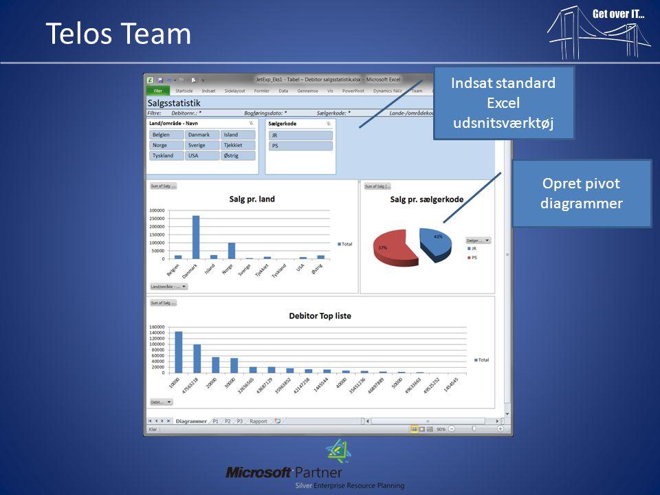 Indsat standard Excel udsnitsværktøj