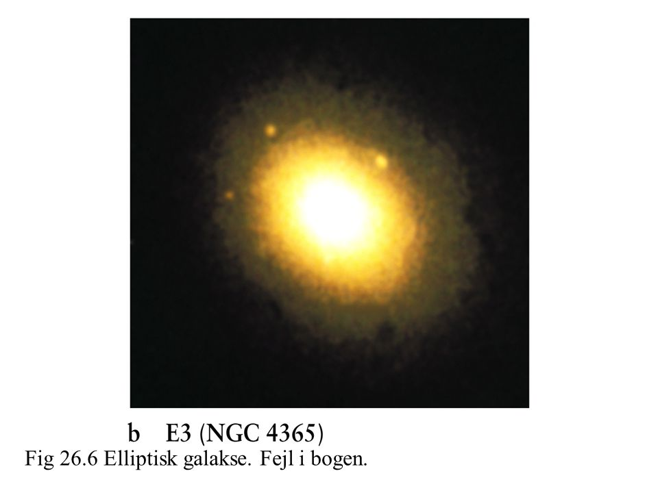 Fig 26.6 Elliptisk galakse. Fejl i bogen.