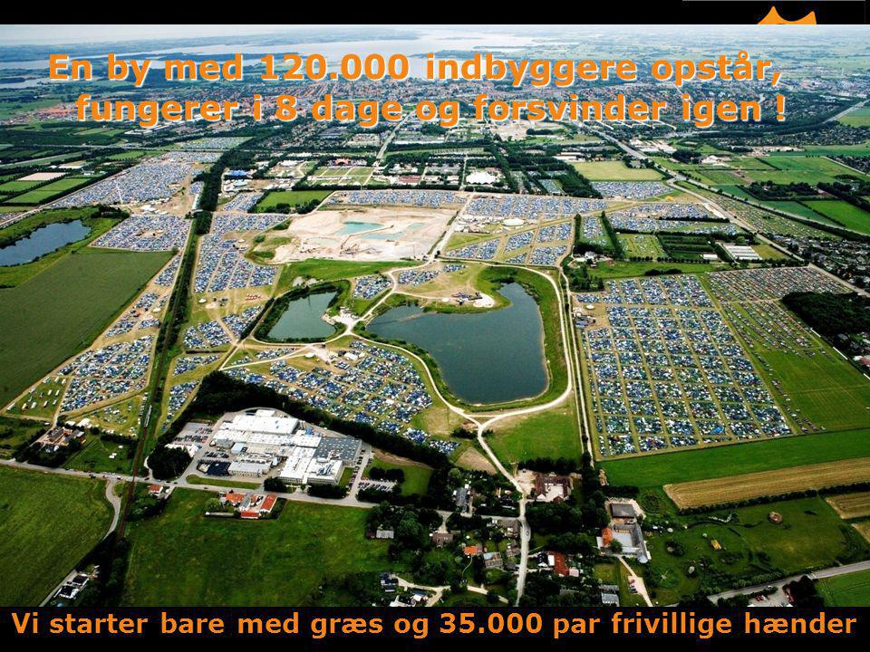 Vi starter bare med græs og 35.000 par frivillige hænder