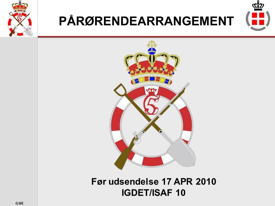 PÅRØRENDEARRANGEMENT