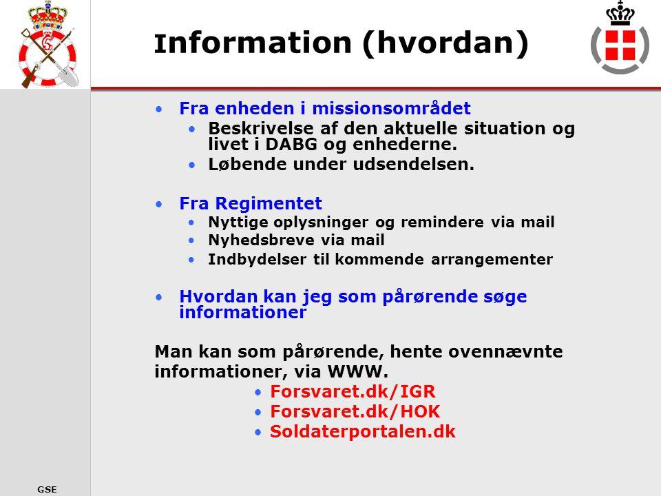 Information (hvordan)