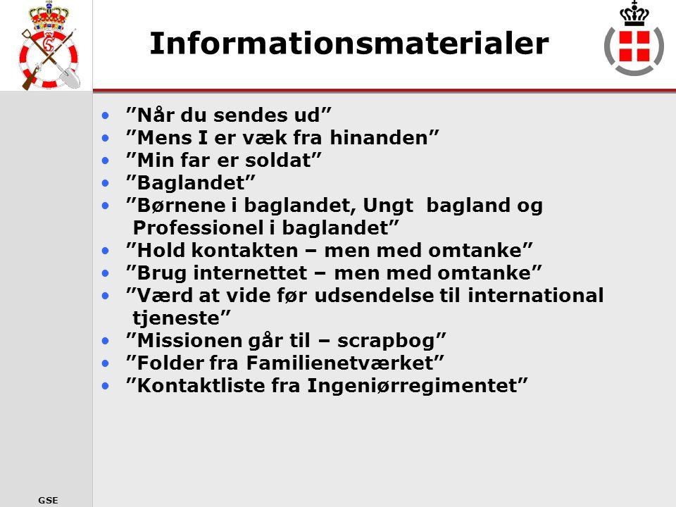 Informationsmaterialer