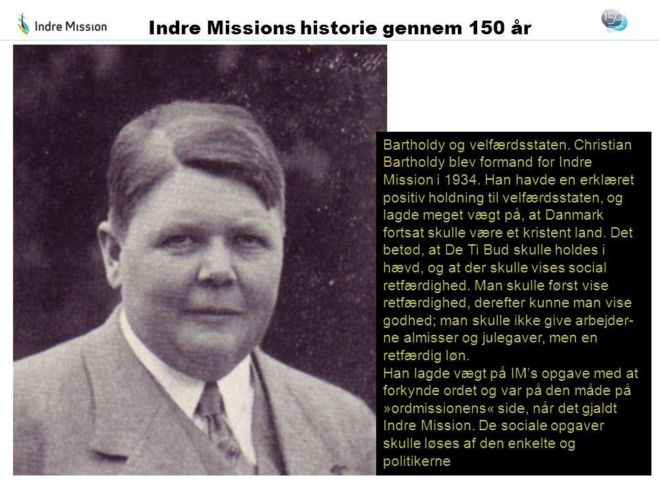 Indre Missions historie gennem 150 år