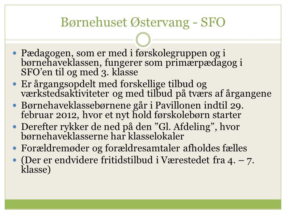 Børnehuset Østervang - SFO
