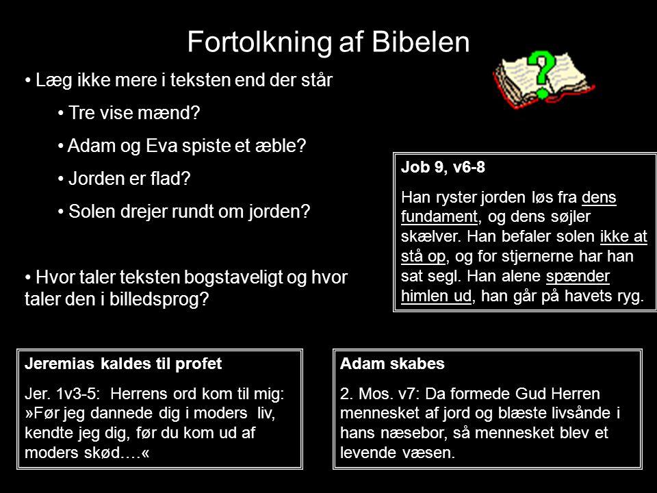 Fortolkning af Bibelen