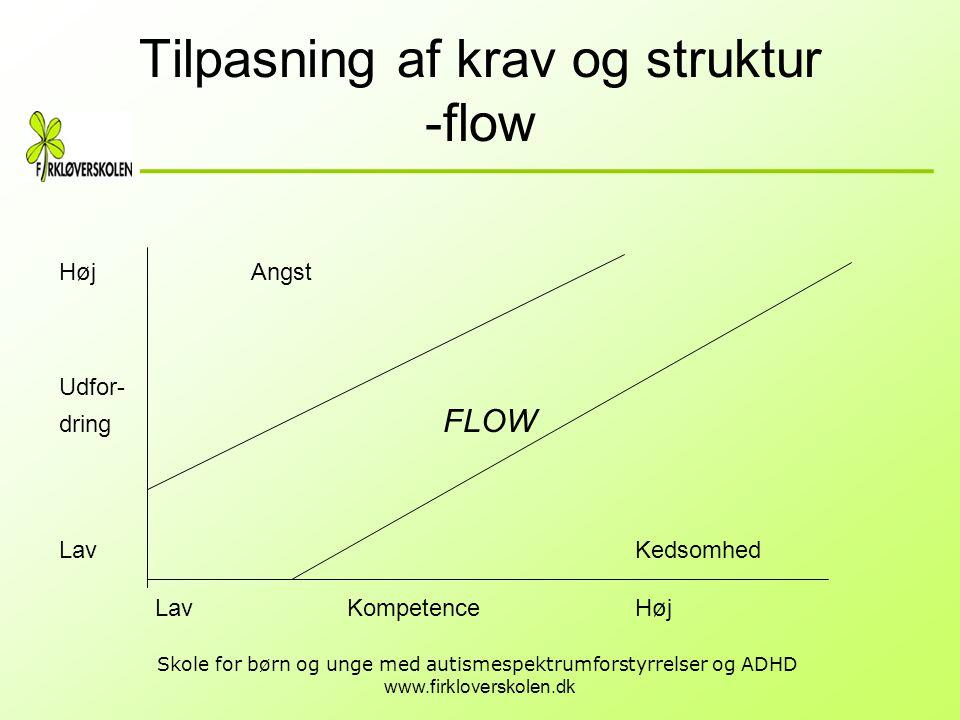 Tilpasning af krav og struktur -flow
