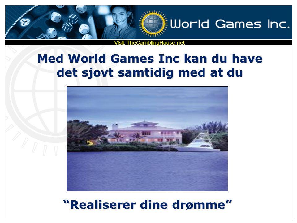 Med World Games Inc kan du have det sjovt samtidig med at du