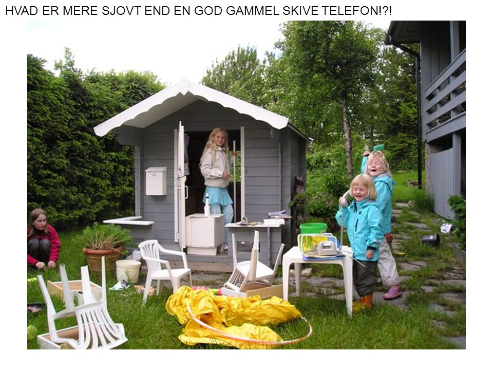 HVAD ER MERE SJOVT END EN GOD GAMMEL SKIVE TELEFON! !