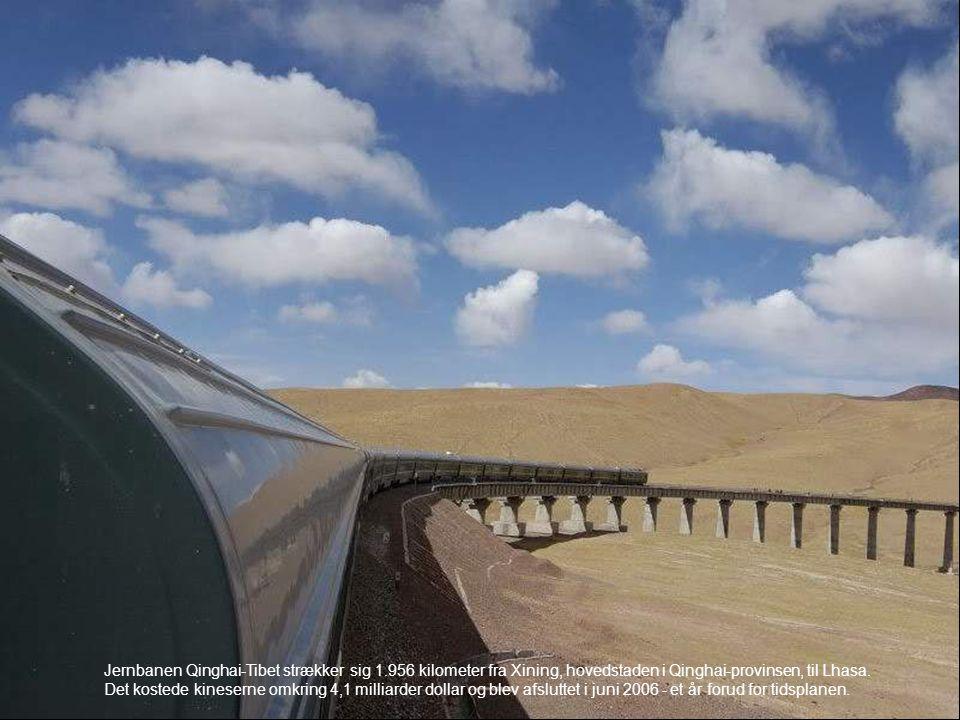 Jernbanen Qinghai-Tibet strækker sig 1