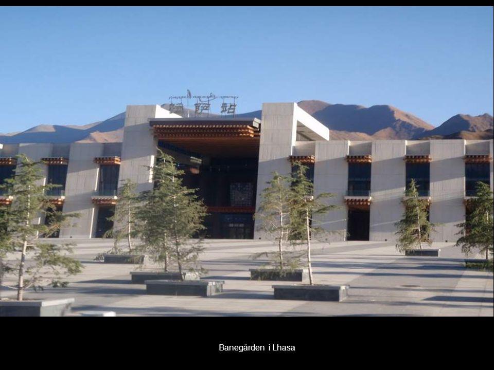 Banegården i Lhasa