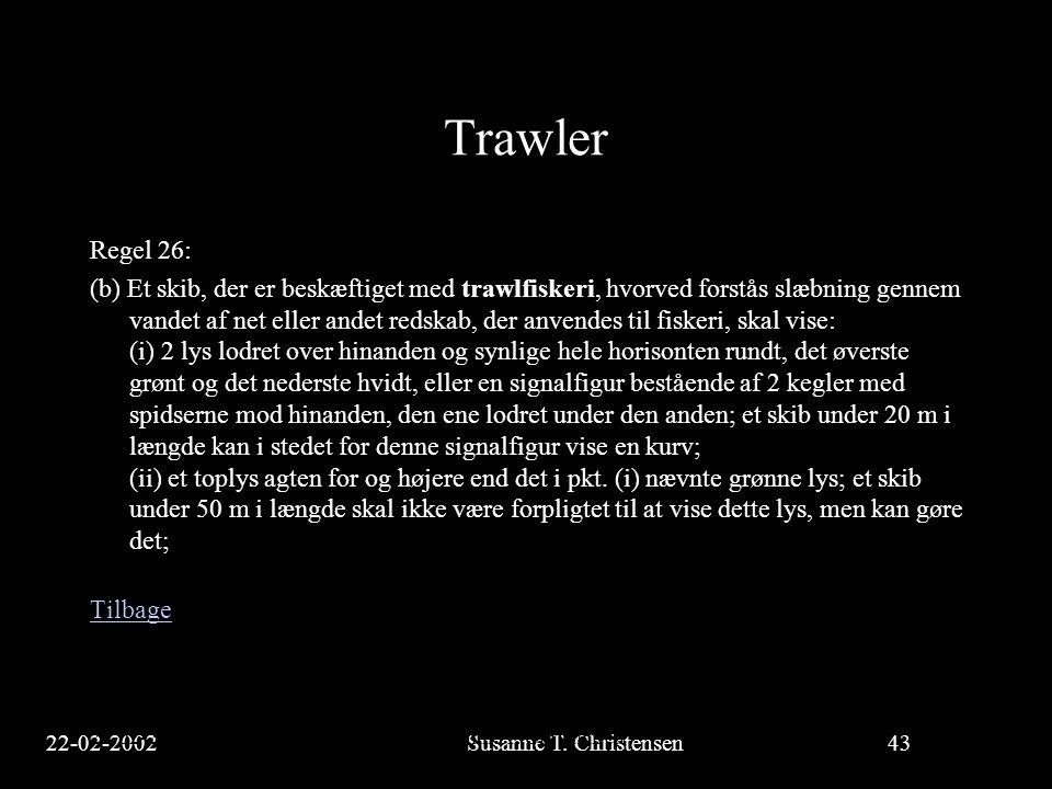 Trawler Regel 26: