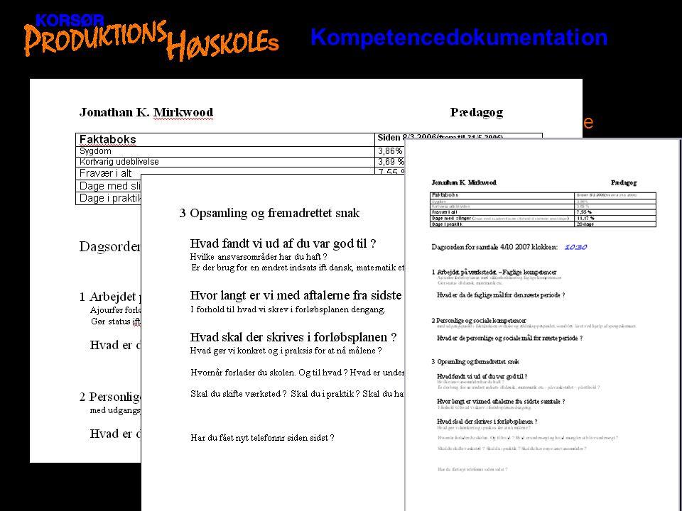 Kompetencedokumentation s
