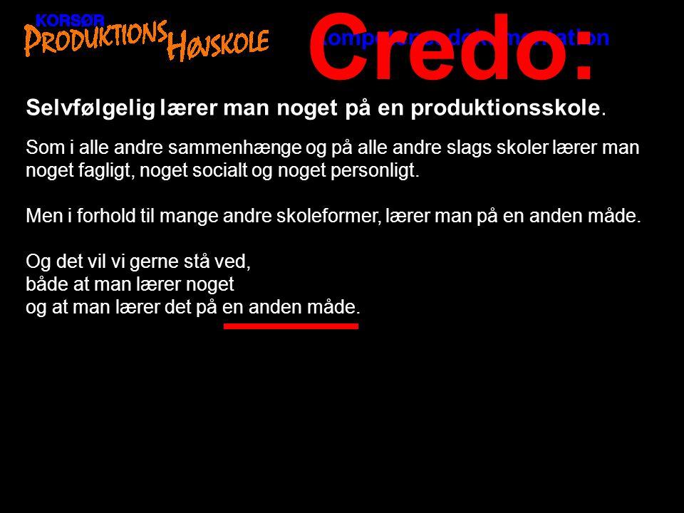 Credo: Kompetencedokumentation