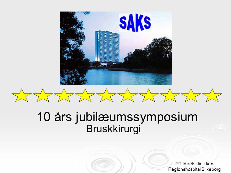 10 års jubilæumssymposium