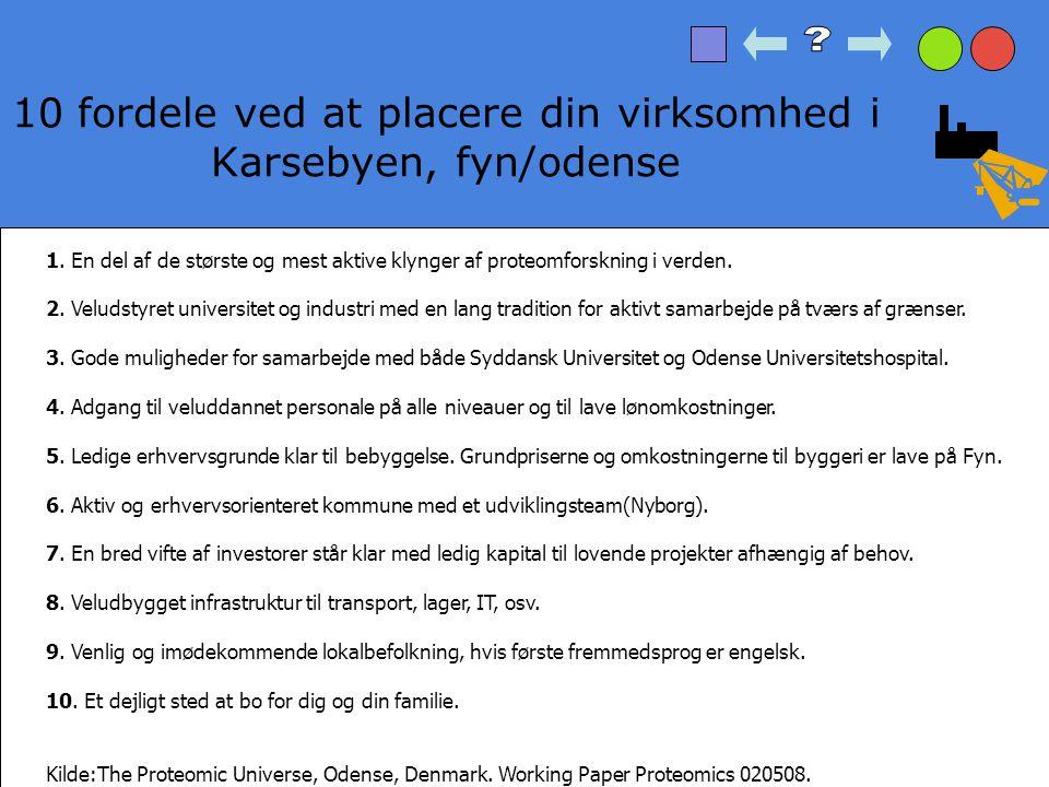 10 fordele ved at placere din virksomhed i Karsebyen, fyn/odense
