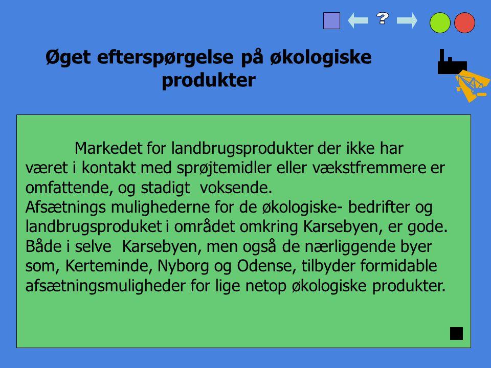 Øget efterspørgelse på økologiske produkter