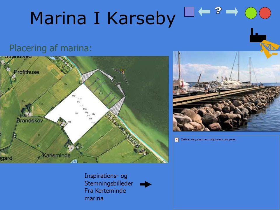 Marina I Karseby Placering af marina: Inspirations- og