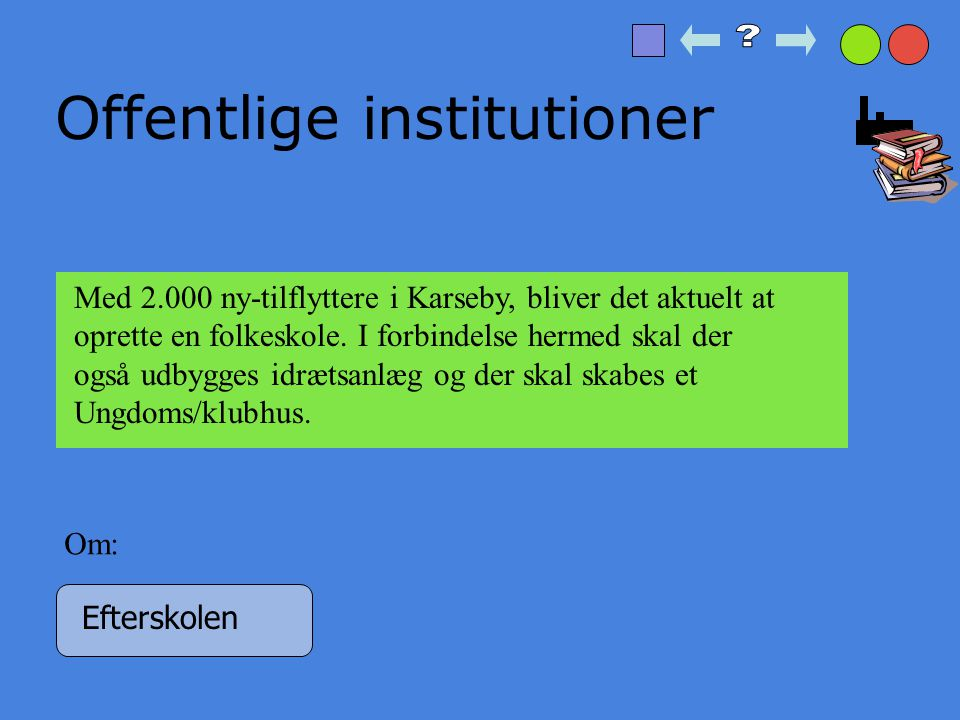 Offentlige institutioner