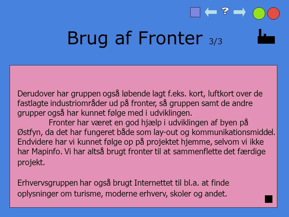 Brug af Fronter 3/3
