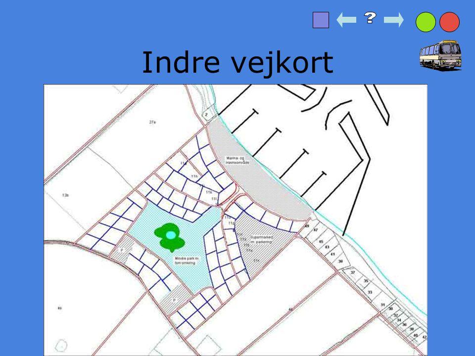 Indre vejkort