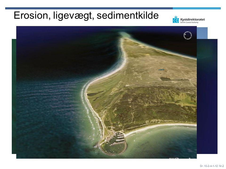 Erosion, ligevægt, sedimentkilde
