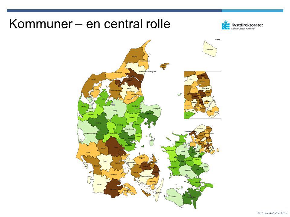 Kommuner – en central rolle