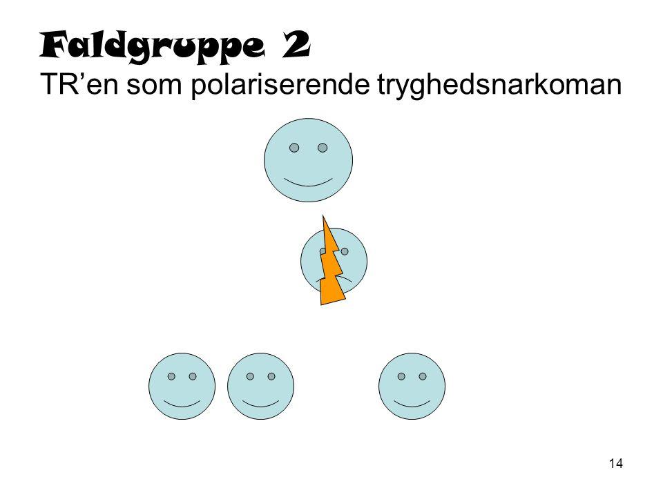 Faldgruppe 2 TR'en som polariserende tryghedsnarkoman