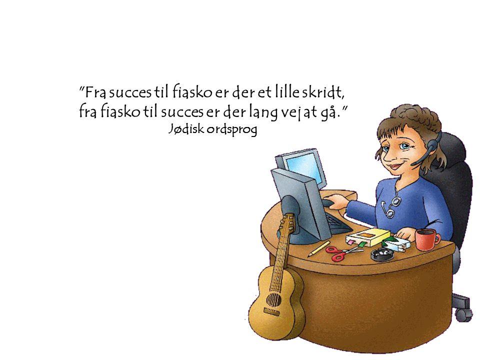 Fra succes til fiasko er der et lille skridt,