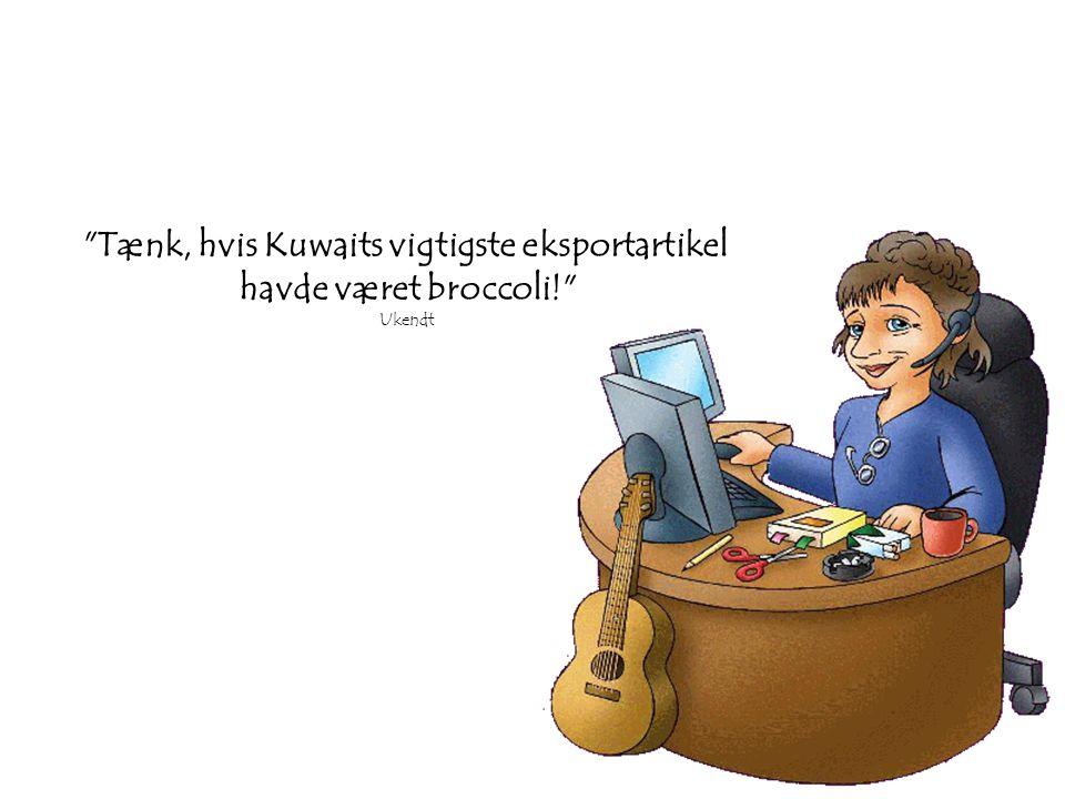 Tænk, hvis Kuwaits vigtigste eksportartikel